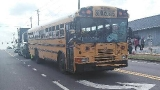 Three school buses involved in wreck in Dade County