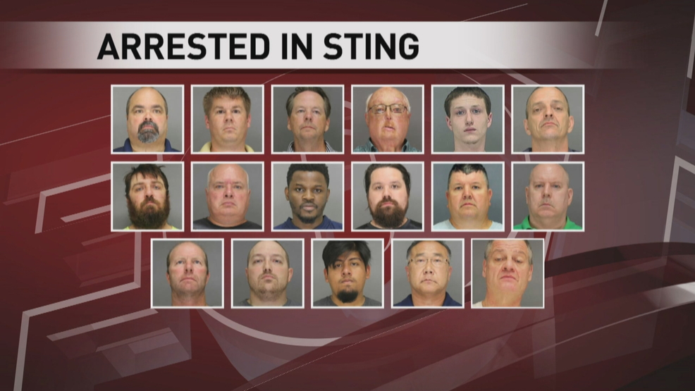 Human trafficking operation yields 19 arrests and 409