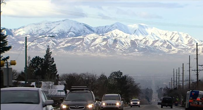 "<p>The American Lung Association released it's 2019 ""State of the Air"" report and Utah didn't fare too well once again. (Photo: KUTV)</p>"