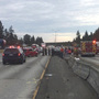 4 injured in multi-vehicle crash on I-5 in Lakewood