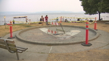 Vandals damage wade pool at Seattle's Magnuson Park