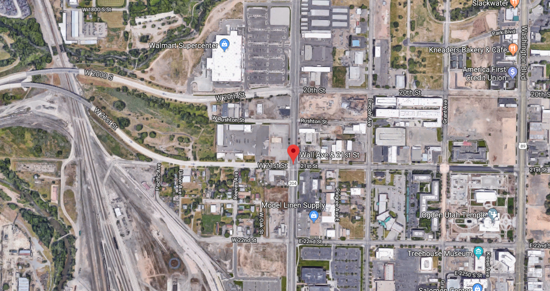 Investigators have responded to a fatal officer-involved shooting in Ogden Friday night. (Photo via Google Maps)