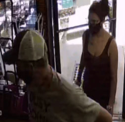 A surveillance image shows the suspects.