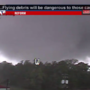 VIDEO: Tornado touches down in Alabama as Harvey winds move northeast
