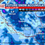 Next weather maker bringing significant mountain snowfall