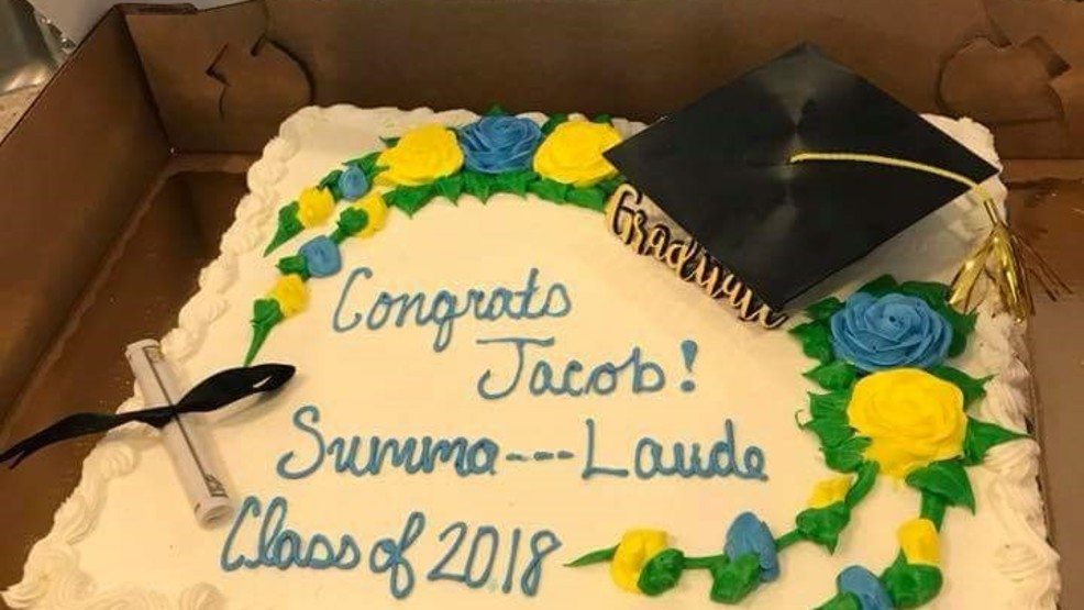 Publix Wouldnt Write Summa Cum Laude On Graduation Cake Due To