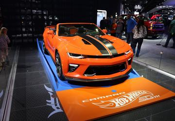 ICYMI: Chevy honors golden anniversary of Hot Wheels partnership with special Camaro