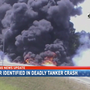 Driver who died in fiery trailer crash on I-10 identified