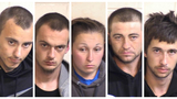 Stolen car leads to 5 arrests
