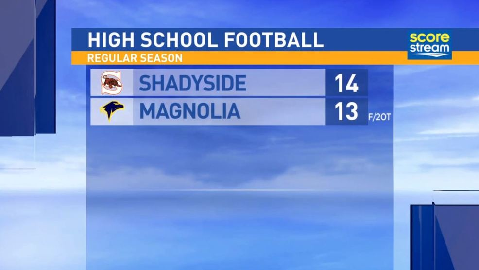 9.8.17 Highlights: Shadyside at Magnolia