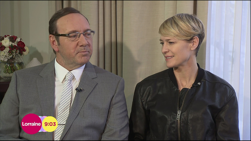 Robin Wright: 'I'm not getting the same money as Kevin Spacey' for House of Cards