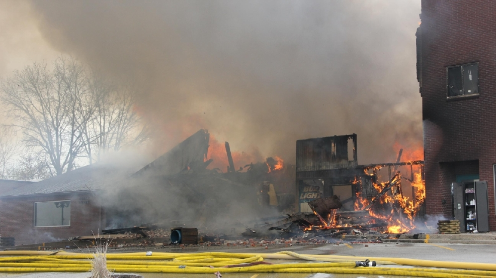 fire ravages east side of princeton square