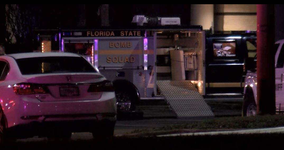 Police say two improvised explosive devices ignited inside a mall in central Florida. (WFLA via CNN Newsource)