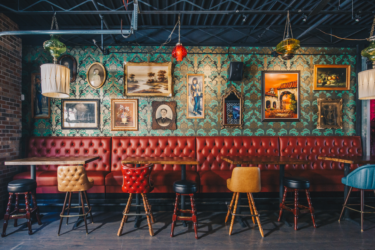 The Oddfellows in Columbus has been slinging drinks since 2014, hosting themed nights, trivia games, and regular visits from pop-up restaurants. With a colorful and fun aesthetic—and not to mention the sister pizza company right next door—the Cincinnati location is bound to follow suit. / Image: Catherine Viox // Published: 4.15.19