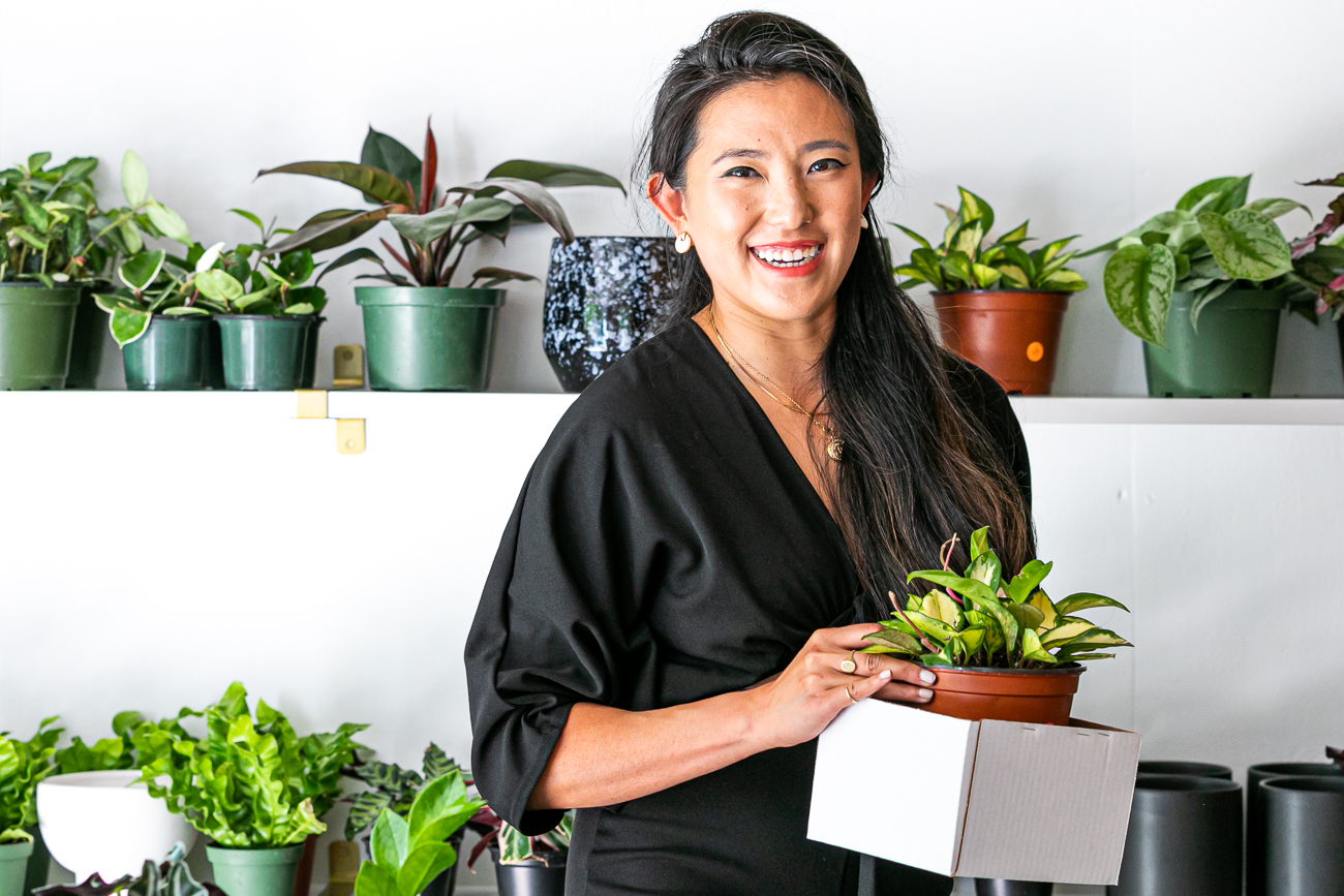 Fleurish Grounds is a pop-up style plant business where people can shop an exciting selection of greenery that changes weekly. Owner Christine Kim reveals her botanical assortment every Tuesday on her Instagram story, which she calls a 'Plant Drop'. Interested buyers can then make arrangements to pick up the plants from Christine's at-home shop in Madisonville. She and her husband renovated their detached garage behind their house to create a space for Christine's plants and plant-related inventory. ADDRESS: 5741 Bramble Avenue (45227) / Image: Amy Elisabeth Spasoff // Published: 7.5.20