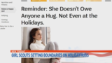 Girl Scouts: No hugs, even at holidays
