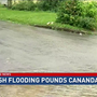 Flash flooding pounds Canandaigua during fast-moving Sunday storm