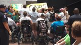 95 health care protesters arrested: 'Rather go to jail than die without Medicaid'