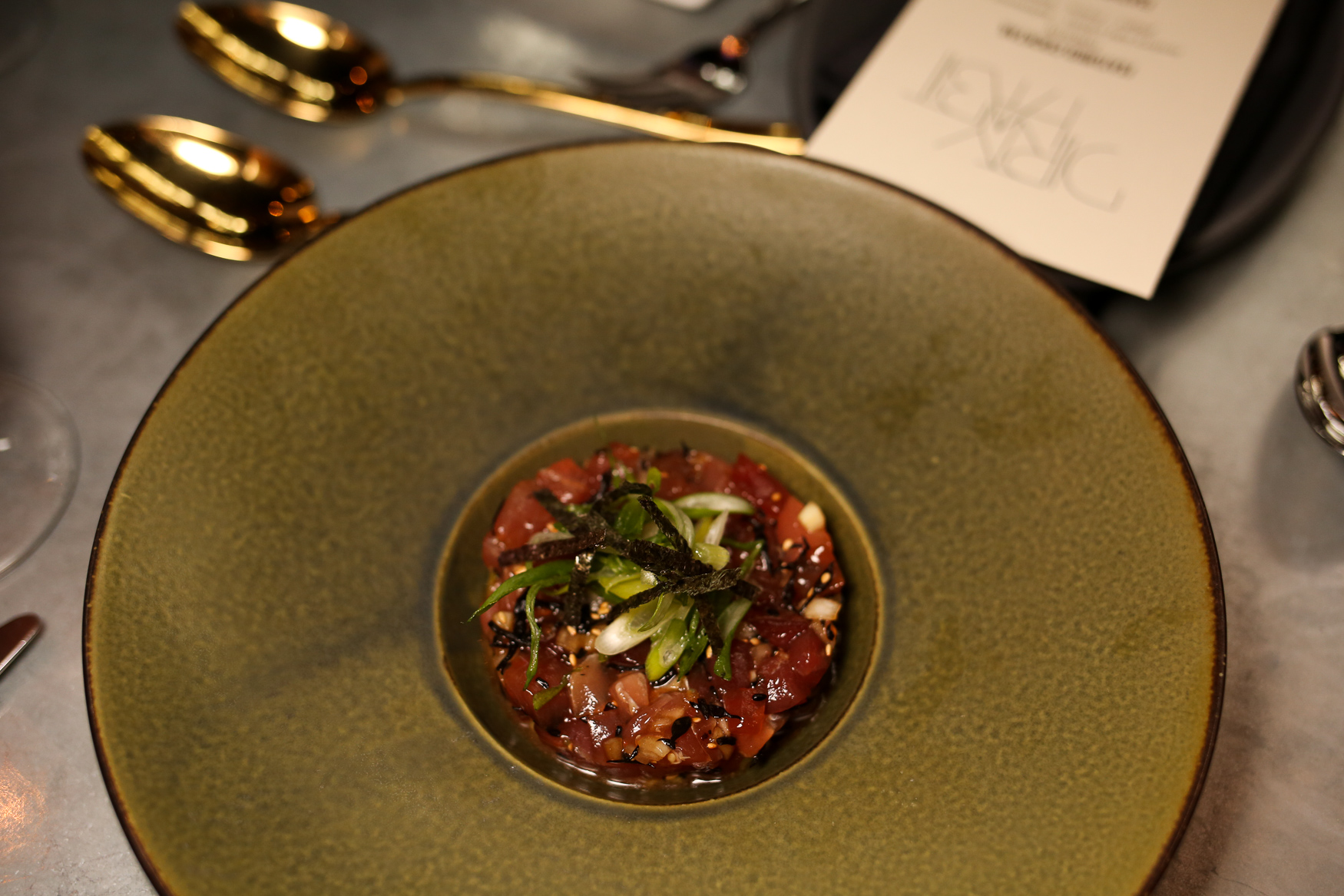 The tuna tartare at Dirty Habit is sure to be a crowd favorite - there's plenty of crunchy elements and flavor variation to keep even the most discerning eater happy, while possibly enticing the tartare skeptic. (Amanda Andrade-Rhoades/DC Refined)