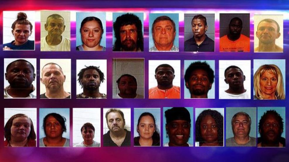 Houston Co  Sheriff's: 25 arrested, $2M worth of drugs seized in major
