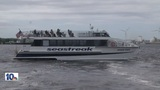 High tide disrupts ferry return from Martha's Vineyard