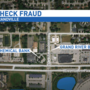 Five men charged in connection with fake check cashing