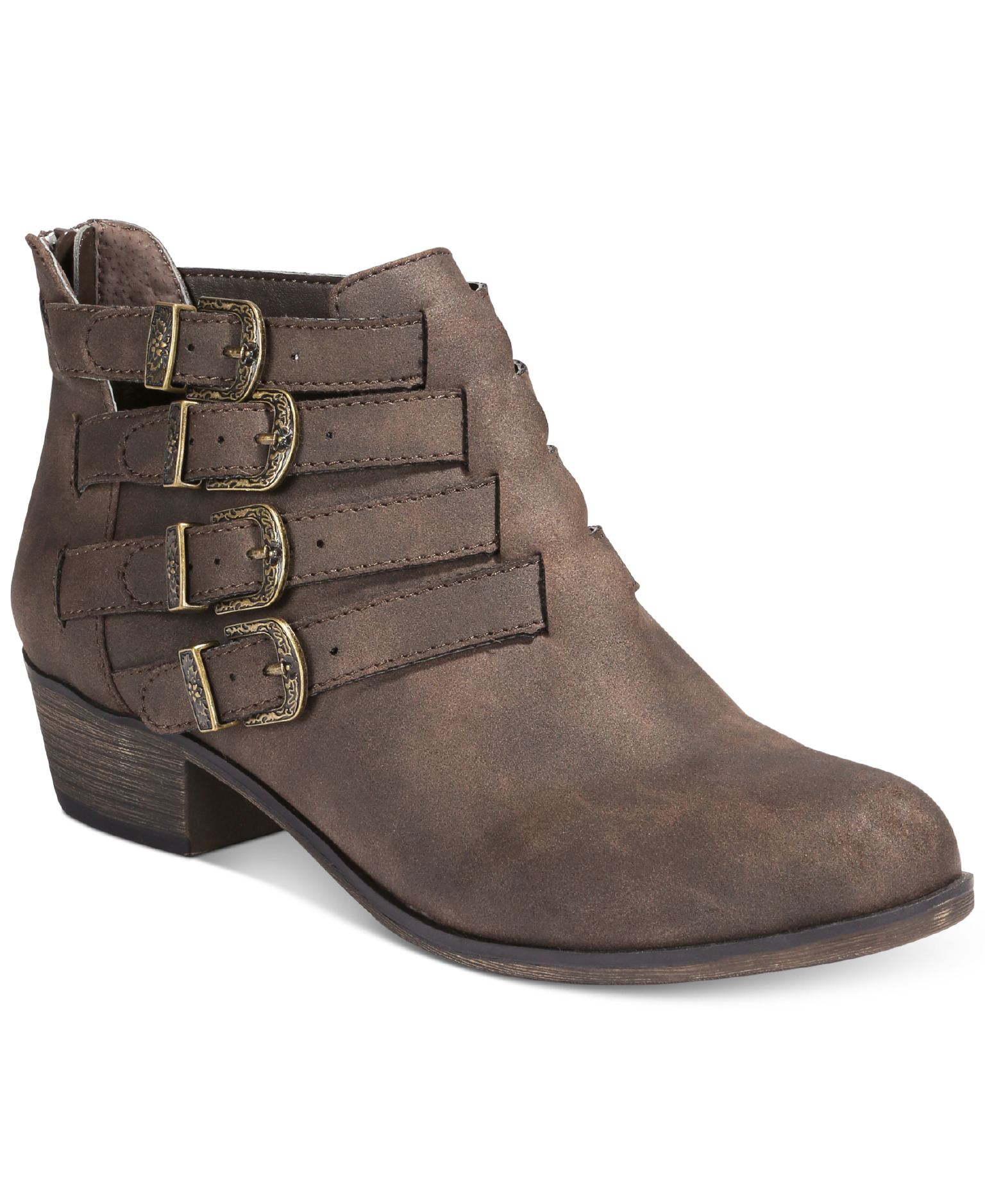 American Rag Darie Ankle Booties from Macy's - on sale for $34.73, originally $69.50 // macys.com (Photo courtesy: Macy's)<p></p>