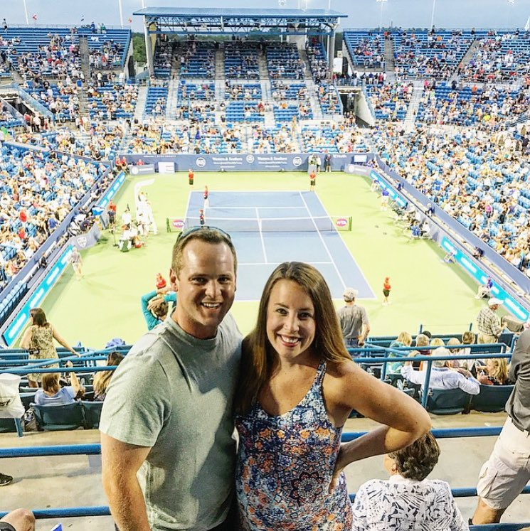 POST: Took the bump out to watch some tennis! / IMAGE: IG user @jmfspaeth // Published: 8.17.17