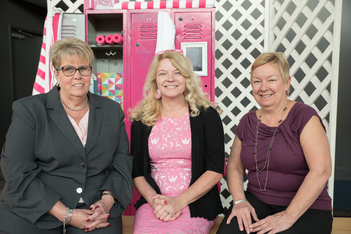 Ruth Woosley, Becky Ingram, and Mary Lou Cieslak / Image: Sherry Lachelle Photography