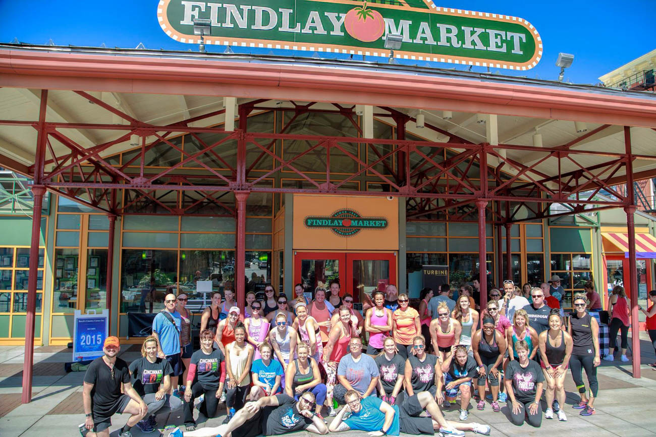 Findlay Market hosted the first of Jenergy's workout programs called Findlay Fit in 2015. The success of Findlay Fit allowed Jenergy to grow and help other community members gain market awareness. / Image: Abdullah Al-Bahrani // Published: 1.29.19