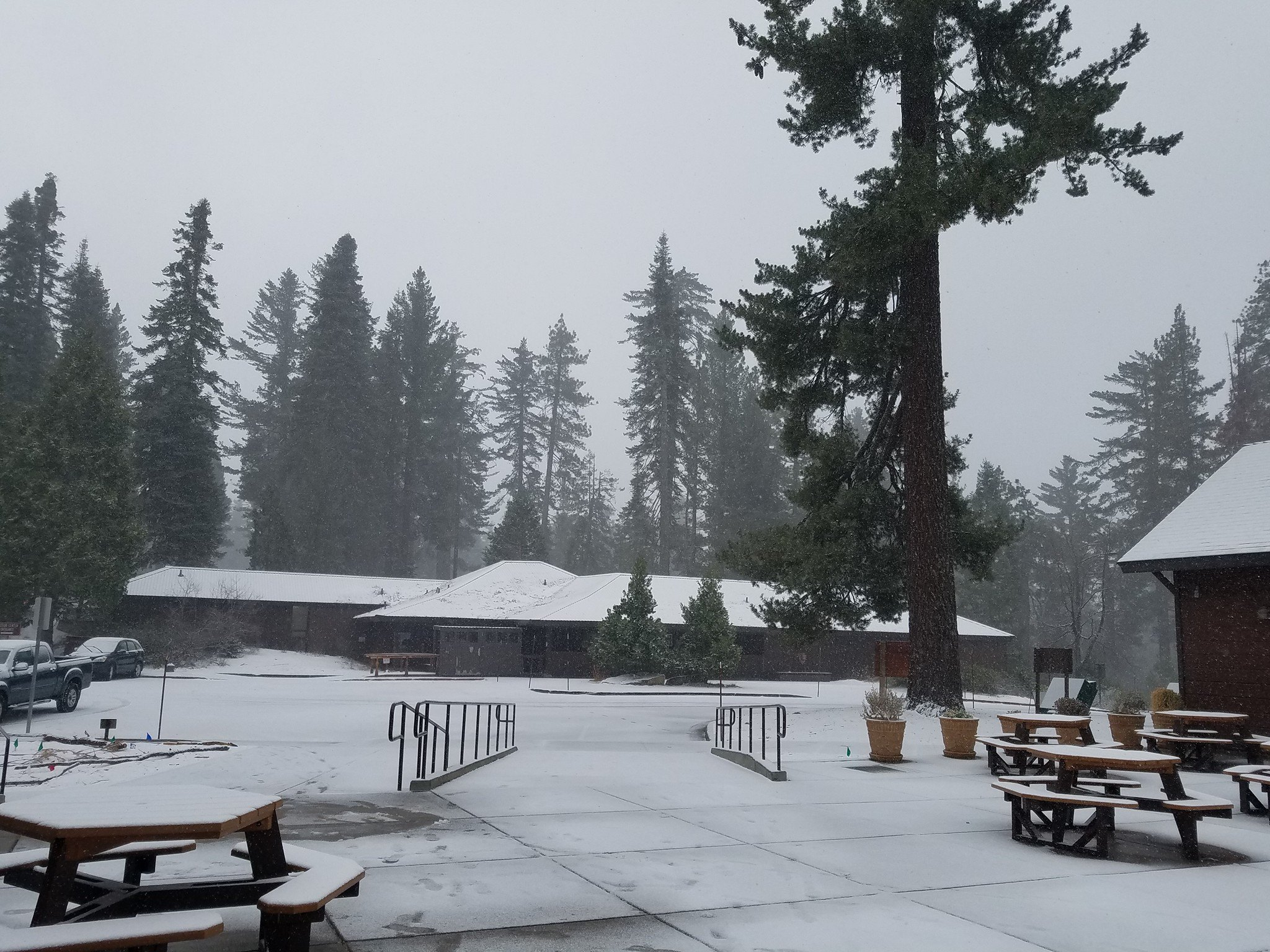 Winter Weather hits the Central Valley and mountains