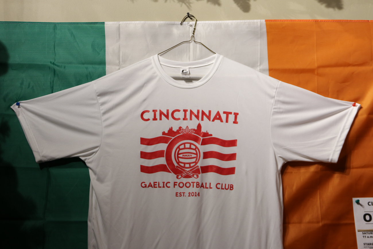 T-shirt of Cincinnati's Gaelic Football Club{ }/ Image: Ronny Salerno // Published: 2.4.19
