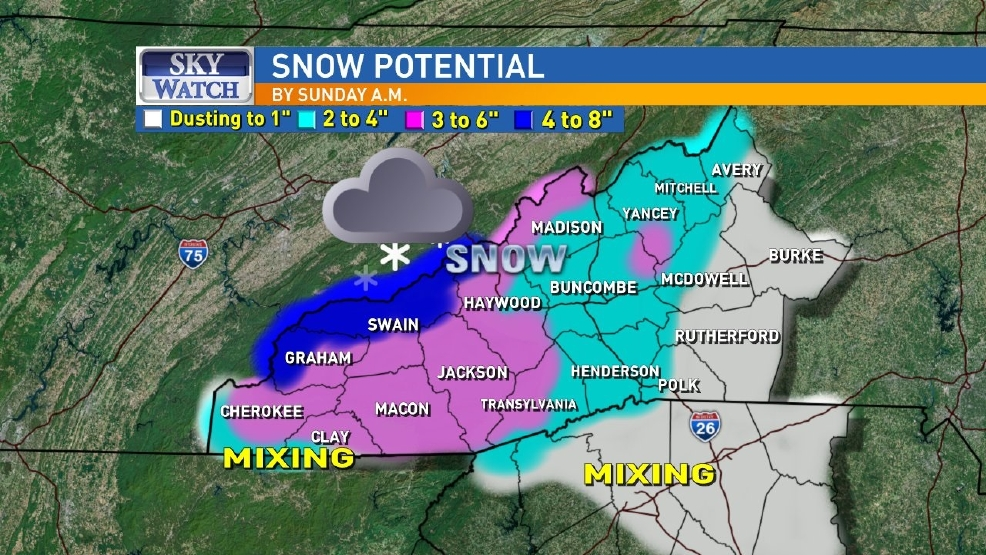 Flurries Now Accumulating Snow Later Tonight Wlos