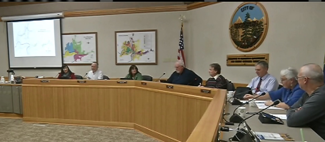 File photo of Roseburg City Council, Dec. 26, 2017. (SBG)<p></p>