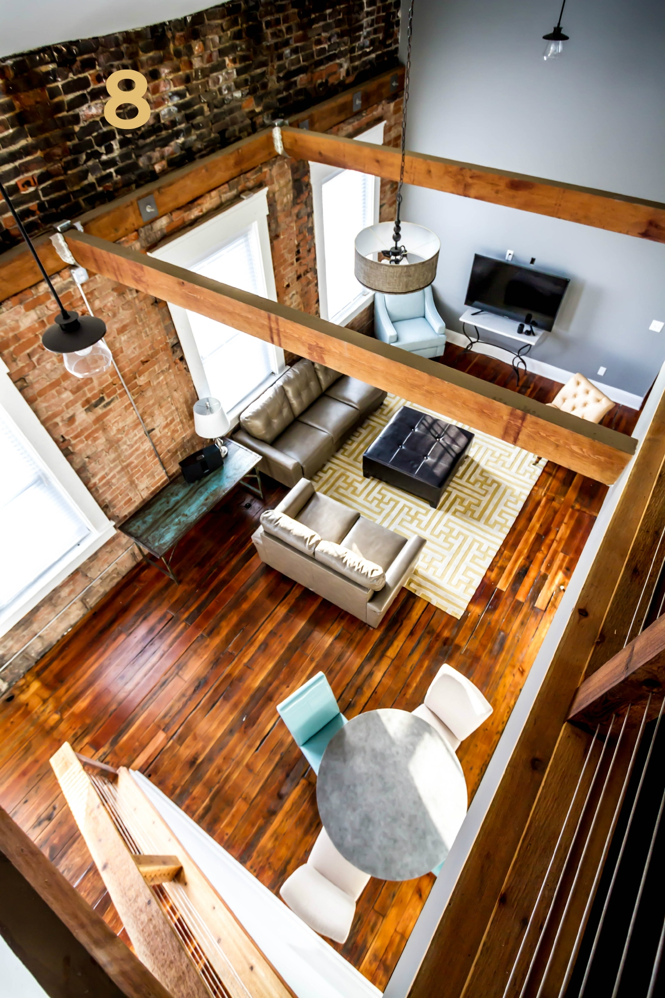 #8 - This gorgeous loft space has been rented out to the film crews on two recent Hollywood movies... movies starring the likes of John Travolta and (separately) Nicole Kidman. The place is called New Chi OTR and is located at 139 McMicken Ave. / Image: Amy Elisabeth Spasoff