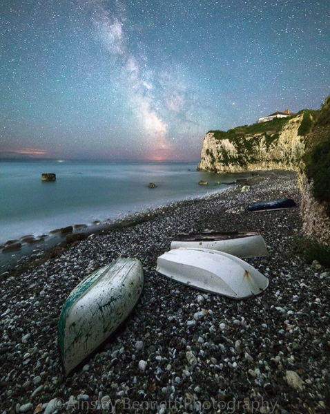 IMAGE: IG user @ainsleybennettphotography / POST: Freshwater bay, Isle of Wight.