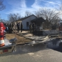 Firefighters battle north Tulsa house fire