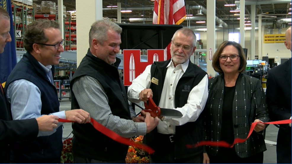Hornady Manufacturing opens new facility after nearly 70