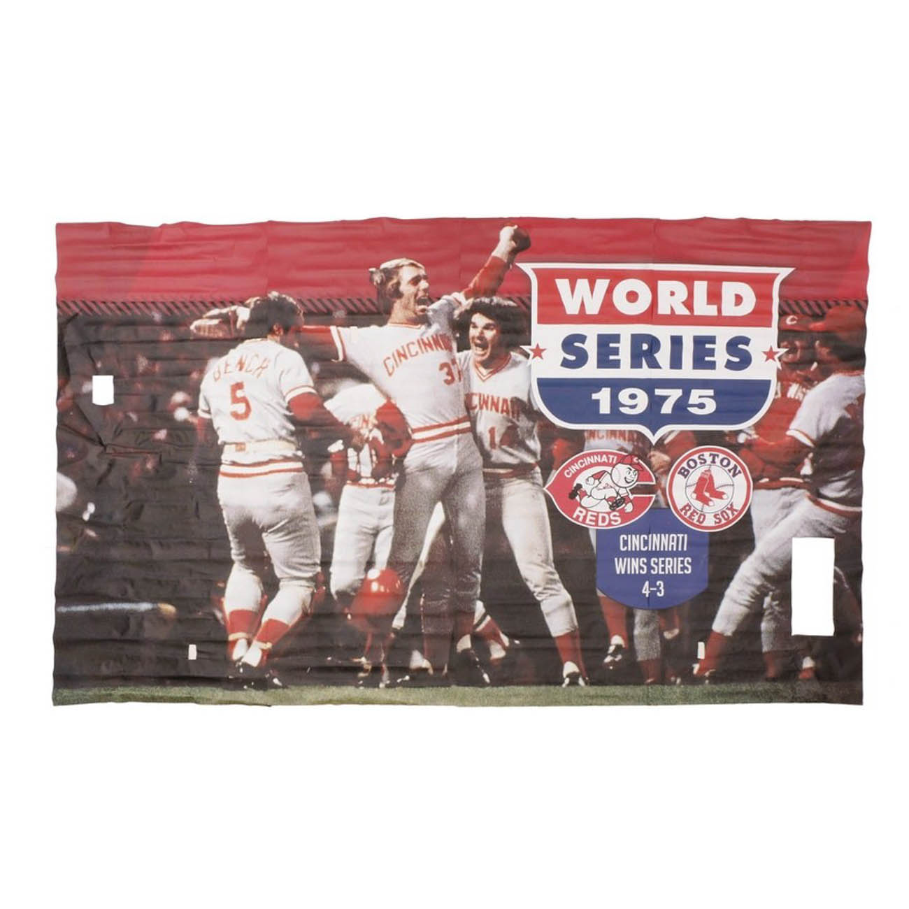 A 1975 World Series four-piece banner / Image courtesy of Everything But The House (EBTH) // Published: 12.6.18