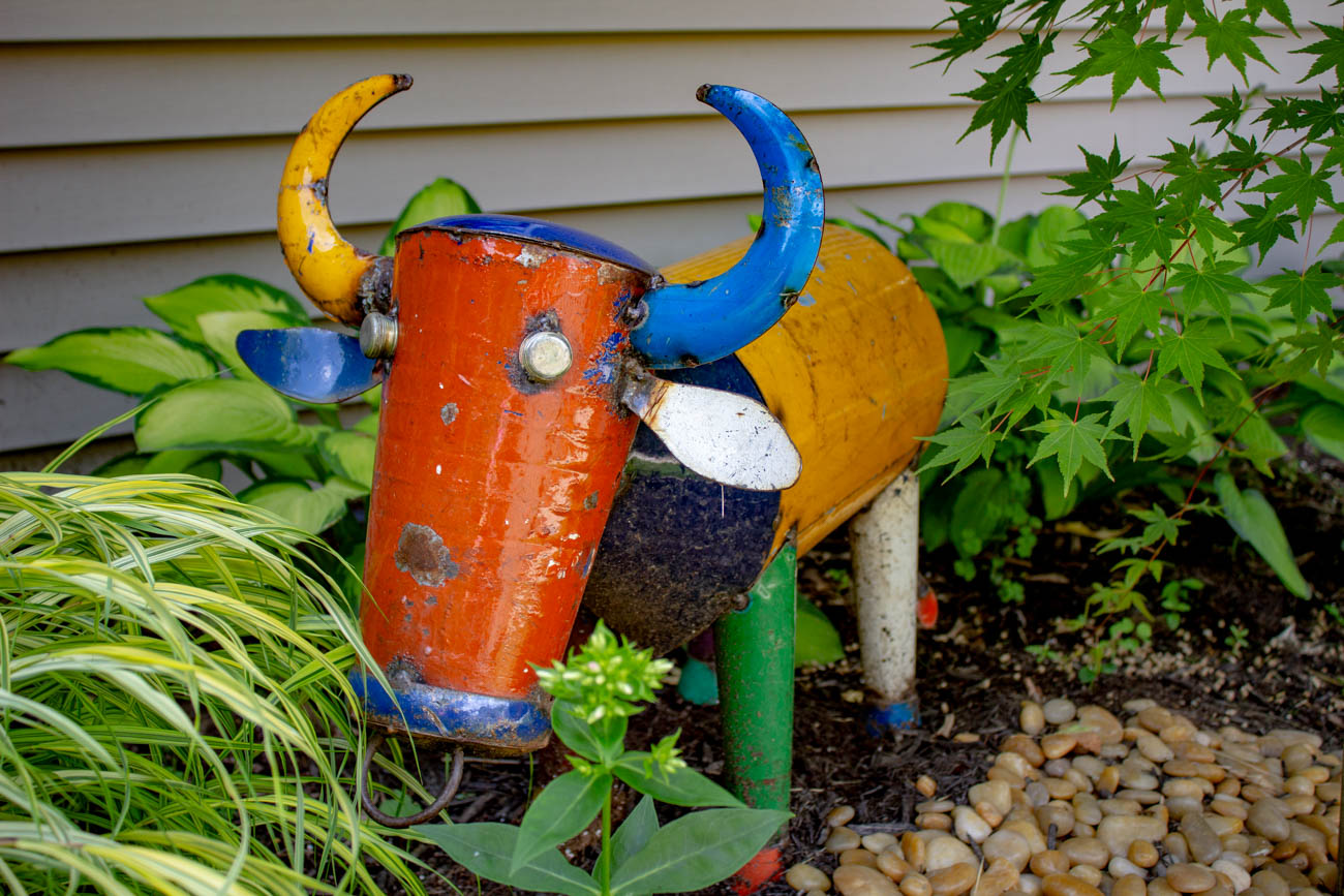 Each garden had a character (or two) of its own. / Image: Katie Robinson, Cincinnati Refined // Published: 6.24.19