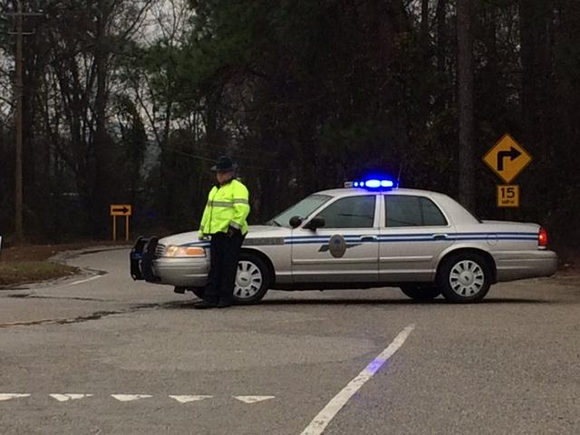 Roads closed after Sunday morning's fatal train accident in Lexington County, S.C. (WACH)