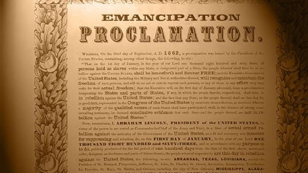 emancipation proclamation essay Download thesis statement on emancipation proclamation in our database or order an original thesis paper that will be written by one of our staff writers and delivered according to.