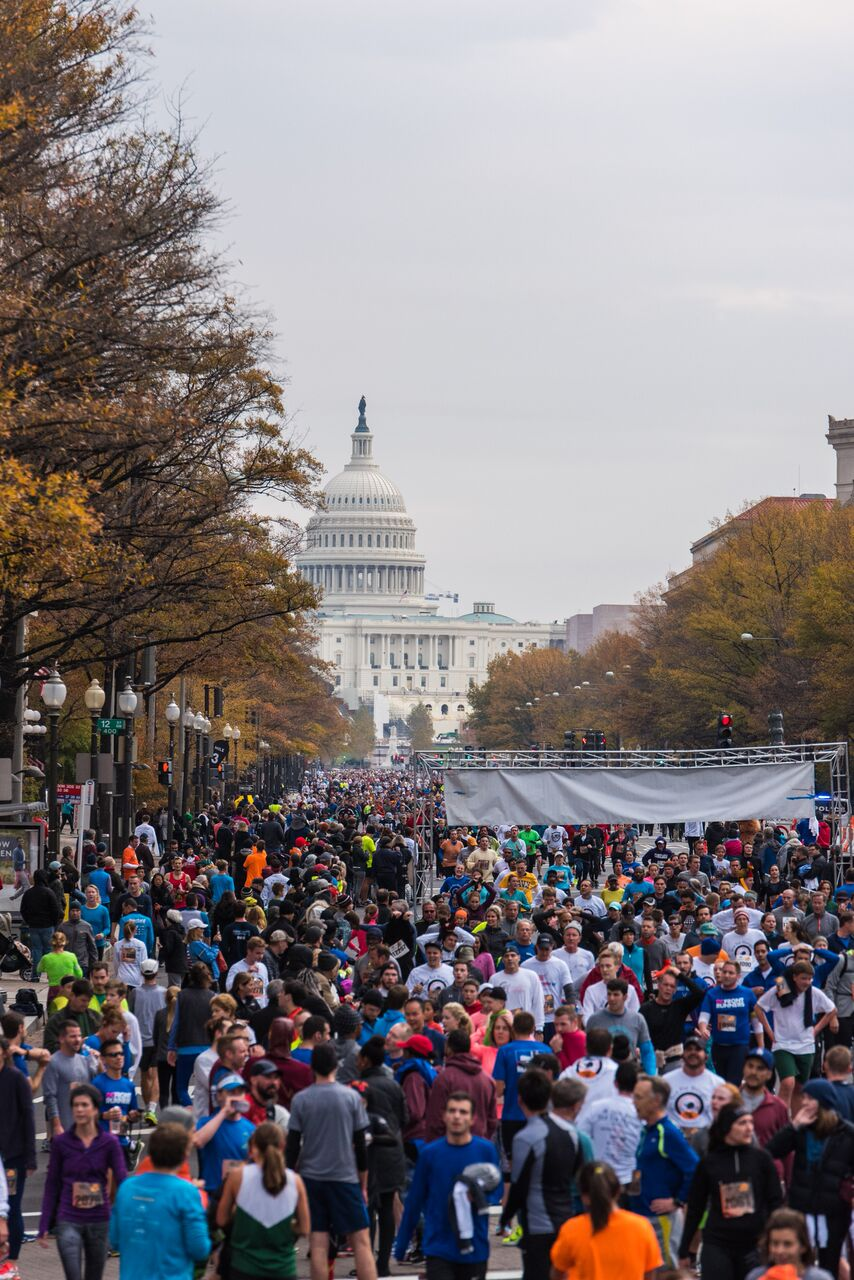 For DC area folks looking for a speedy race, check out this annual Thanksgiving Day Race, currently in its 16th year. (Photo credit Turkey Trot for Hunger)