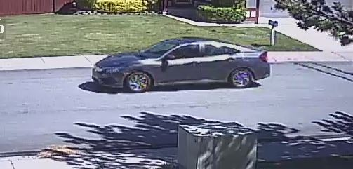 The suspect vehicle in the robbery. (Courtesy: Sparks Police Department)