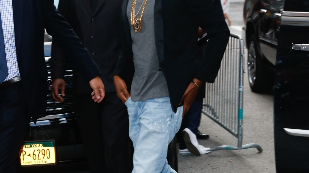Jay-Z attends the New York premiere of 'Southpaw' for THE WRAP at AMC ... Jay Z