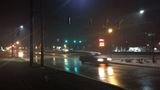 Freezing rain creates hazardous road conditions