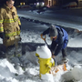 Buried fire hydrants create obstacles for fire crews