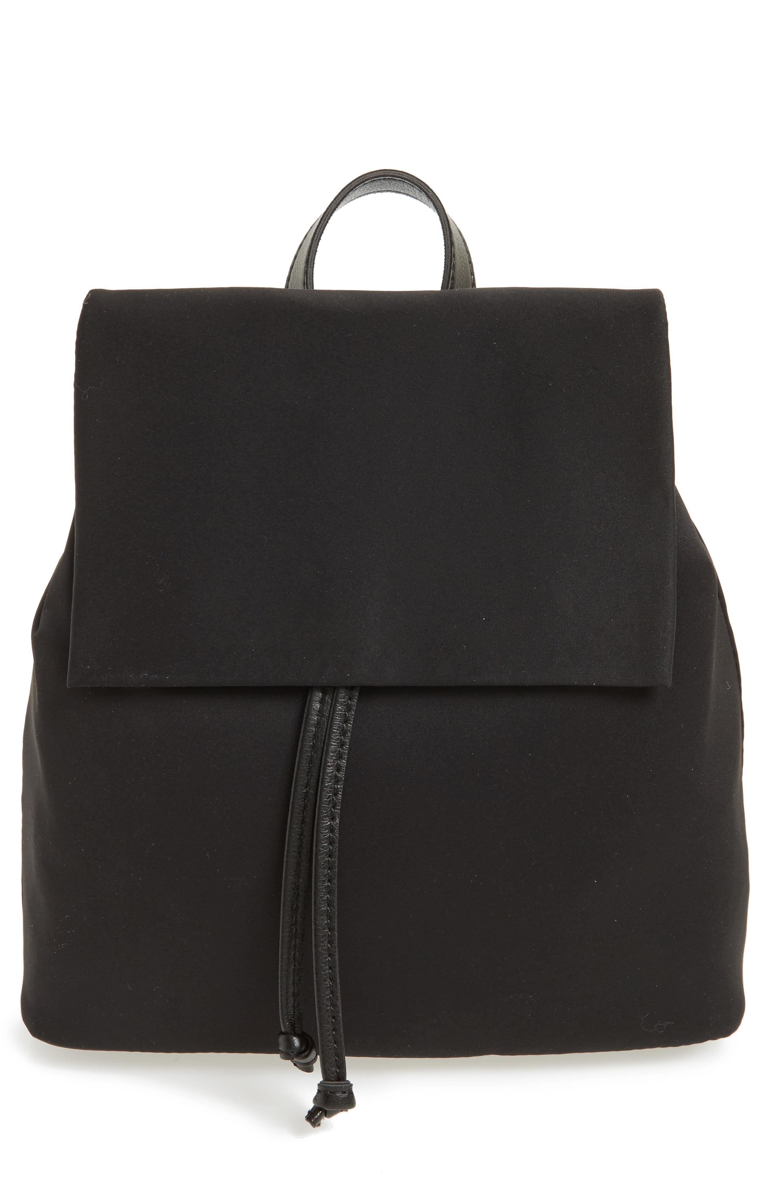 BP. Satin &amp;amp; Faux Leather Backpack from Nordstrom // Price: $49.00 // (Image: Nordstrom // Nordstrom.com)<p></p>
