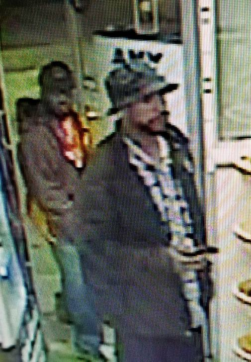 Police believe that the suspects are wearing RIT jackets in the photos. (Photo: Gates Police)