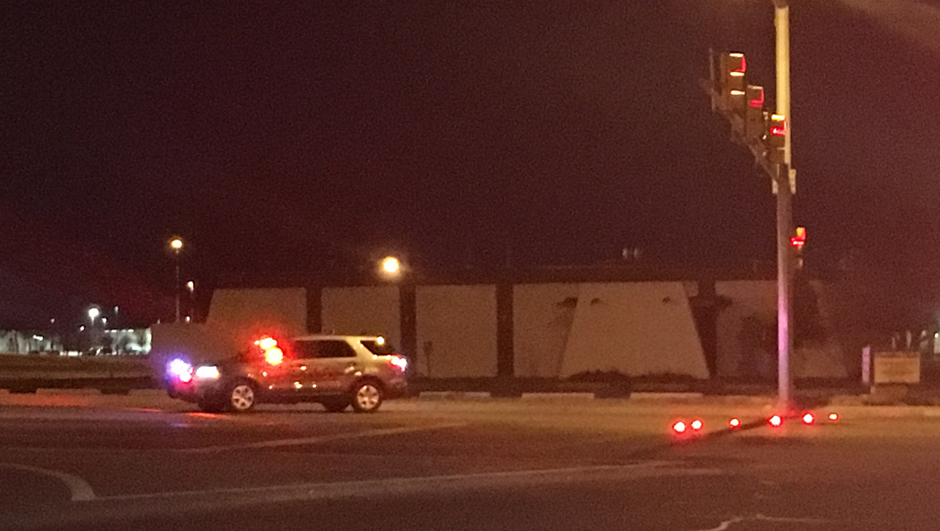 Officers are on the scene of a vehicle and pedestrian accident; Avoid the area (KVII)<p></p>